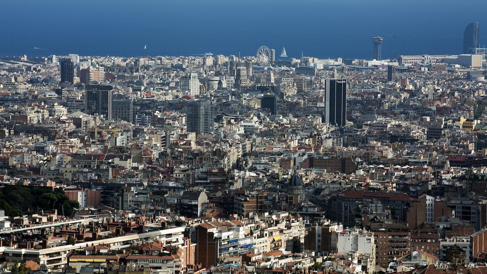 Panoràmica de la ciutat de Barcelona. FRANCESC MELCION