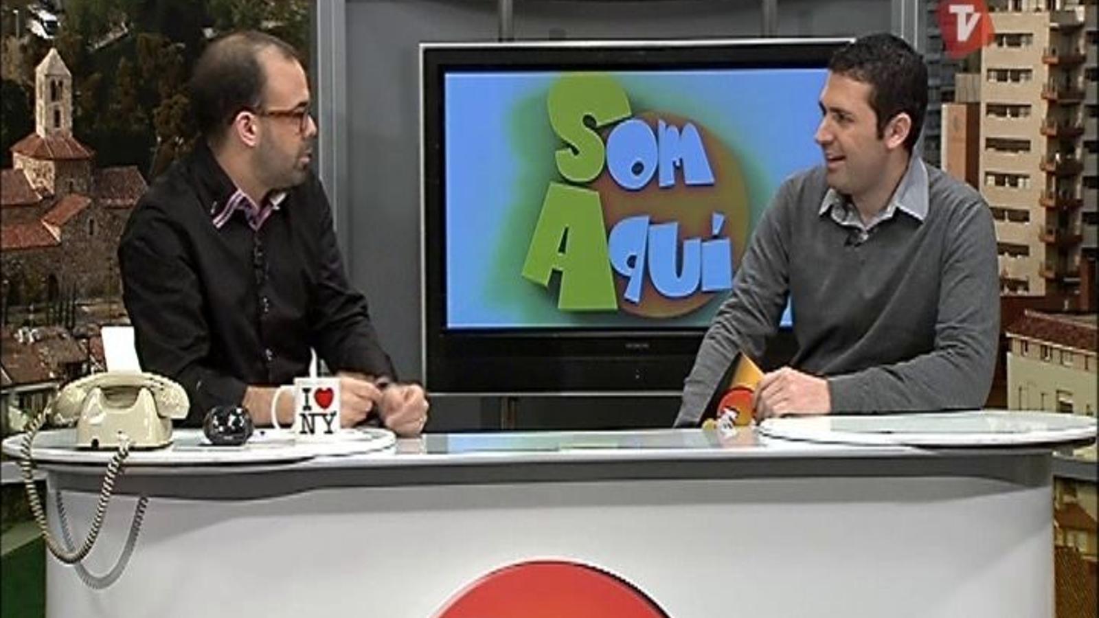 Ara VaDeJocs al Som Aquí del Canal Terrassa Vallès (12/03/2012)