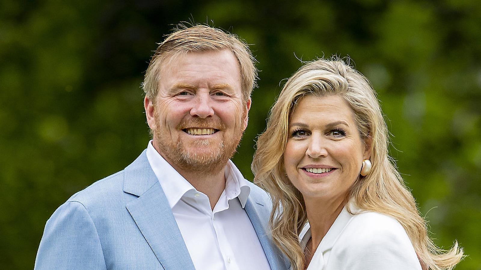Els reis d'Holanda es disculpen per no complir les normes del coronavirus