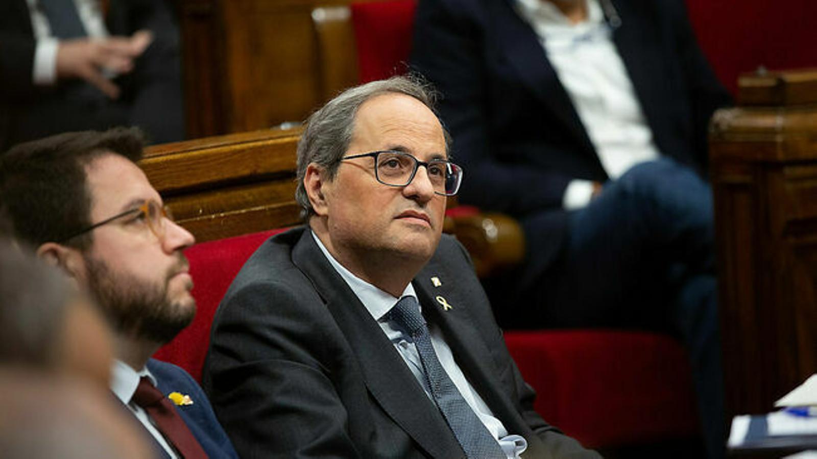 ERC i JxCat reclamen tornar a Pedralbes per votar la investidura
