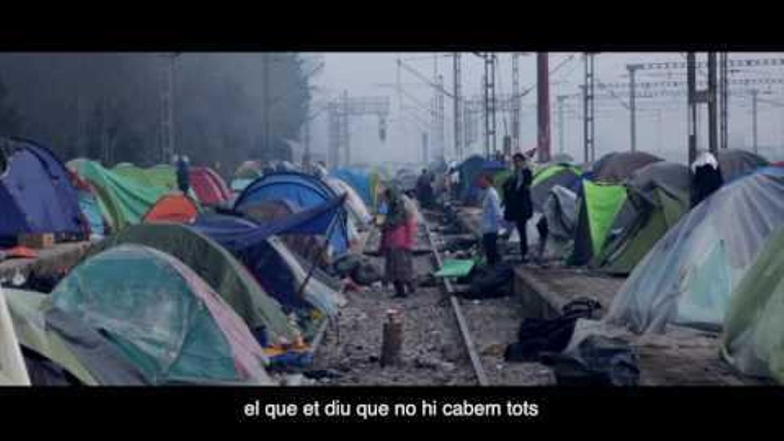 """Todo a punto para la gran manifestación """"Volem acollir"""" [""""Queremos acoger""""] del 18 de febrero en Barcelona"""