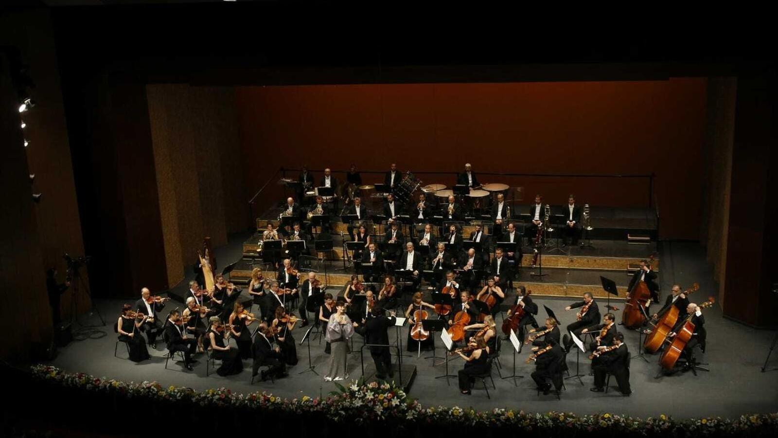 L'OSIB en un concert a l'Auditòrium de Palma