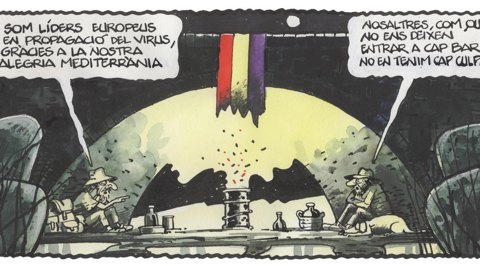 'A la contra', per Ferreres 13/09/2020