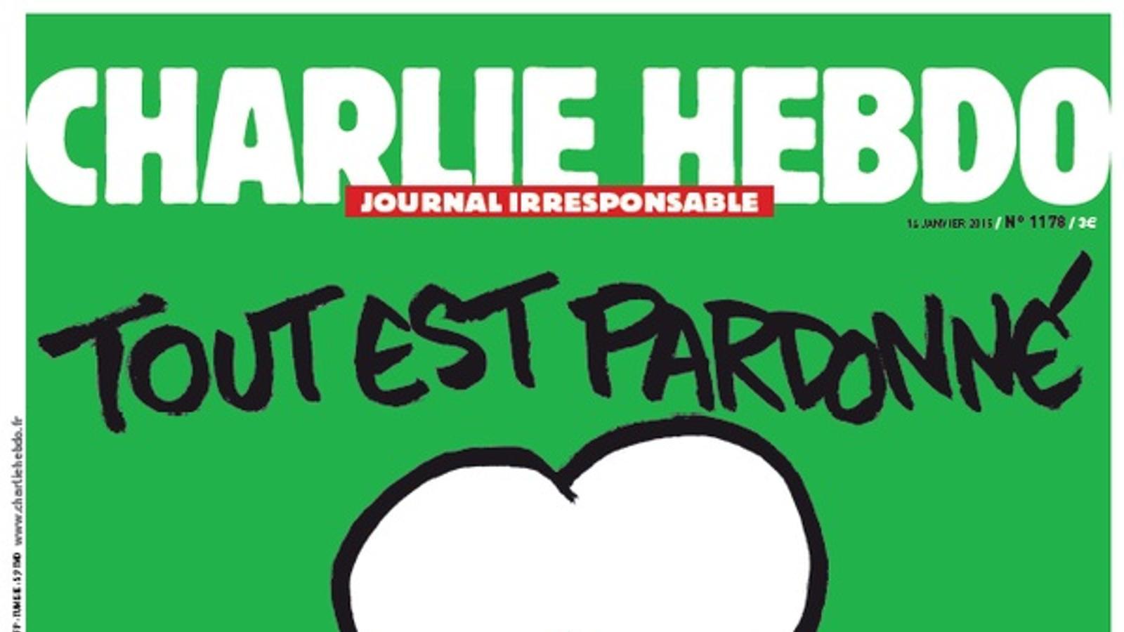 'Charlie Hebdo' no tornarà a publicar dibuixos de Mahoma