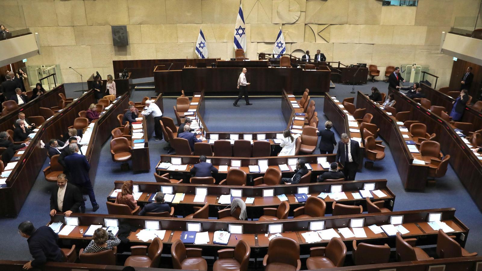 Israel celebrarà les terceres eleccions consecutives en mig d'una greu crisi política