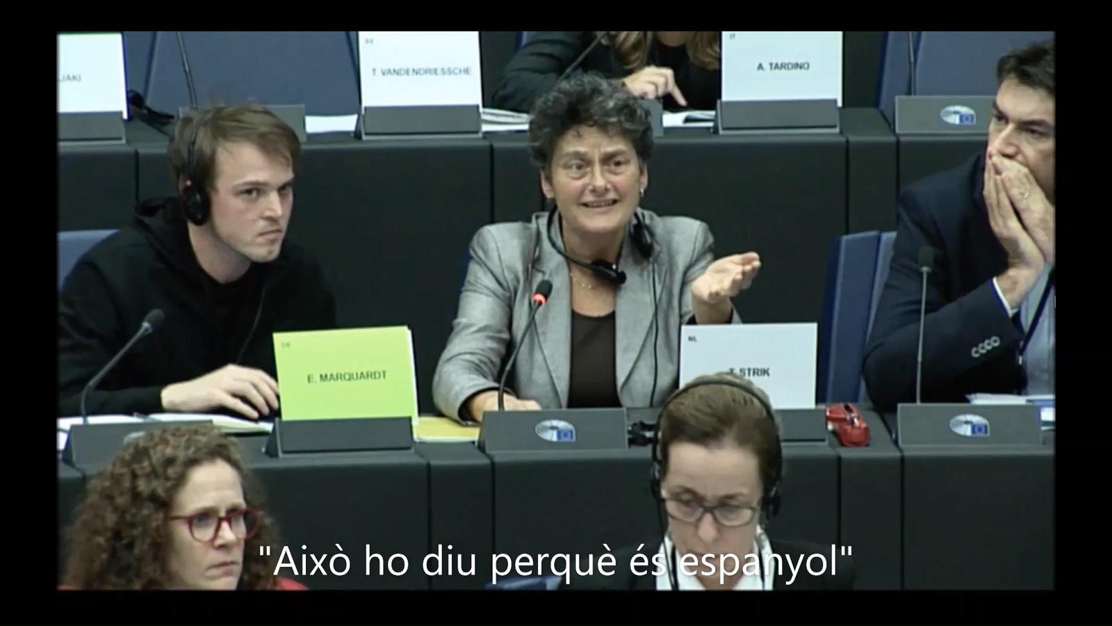 Tensió a la Comissió de Llibertats de l'Eurocambra per la sentència del Procés