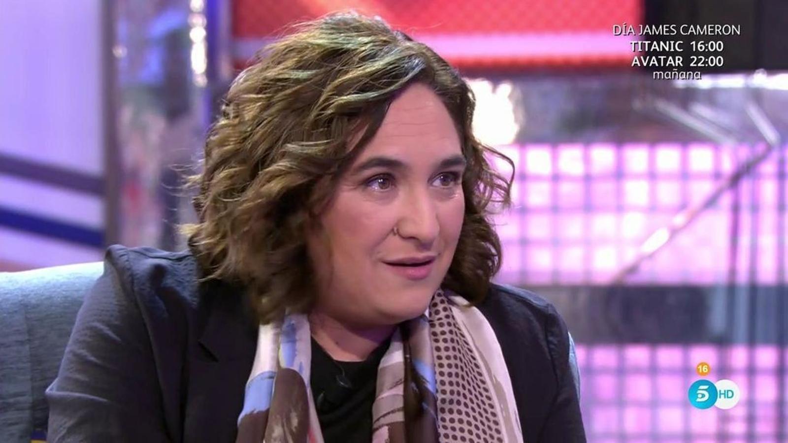"Ada Colau, a 'Sálvame': ""Vaig tenir una nòvia italiana"""