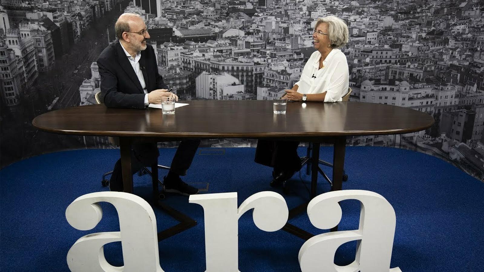Entrevista d'Antoni Bassas a Elena Carreras