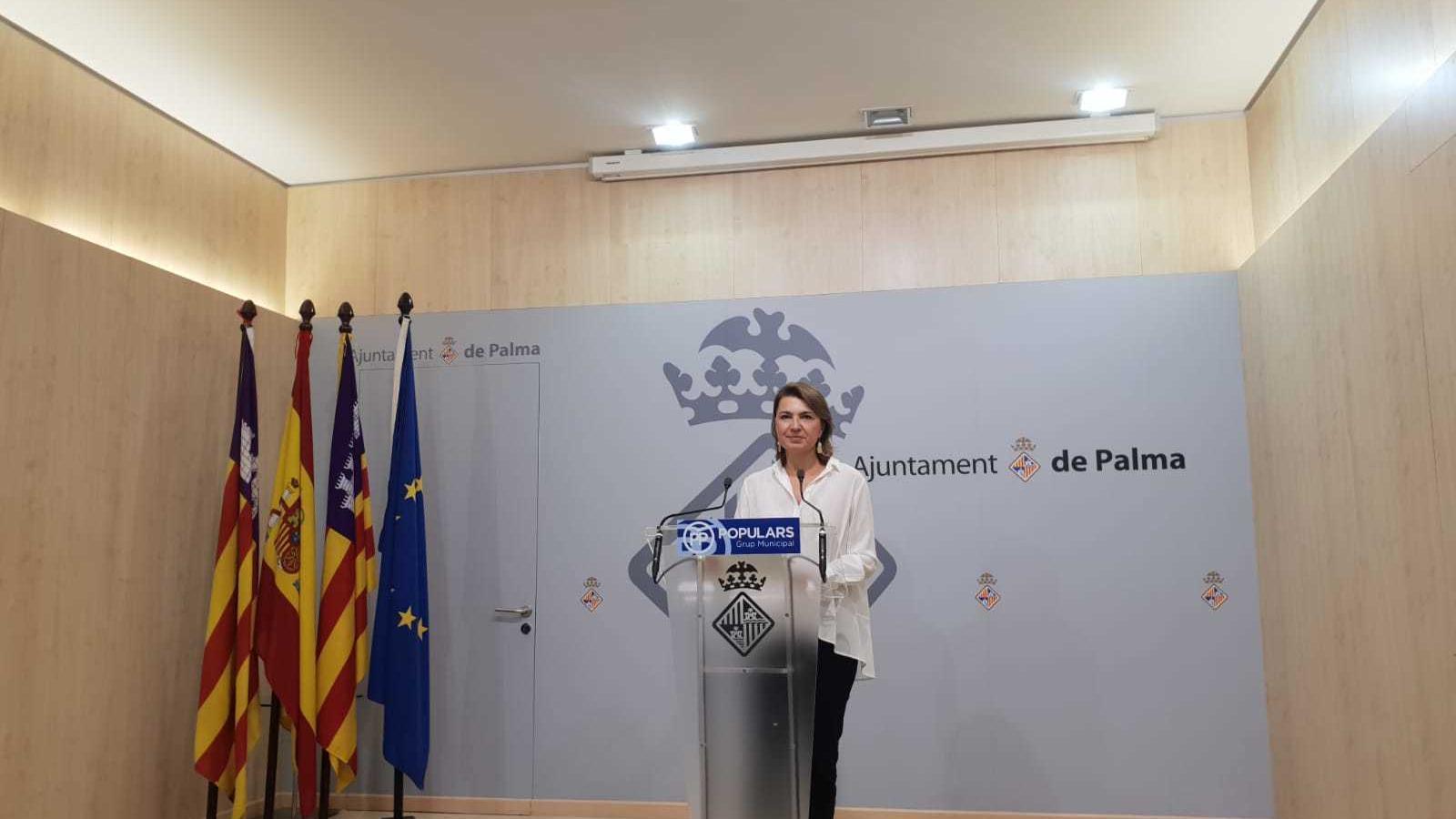 Marga Duran, portaveu del PP de Palma