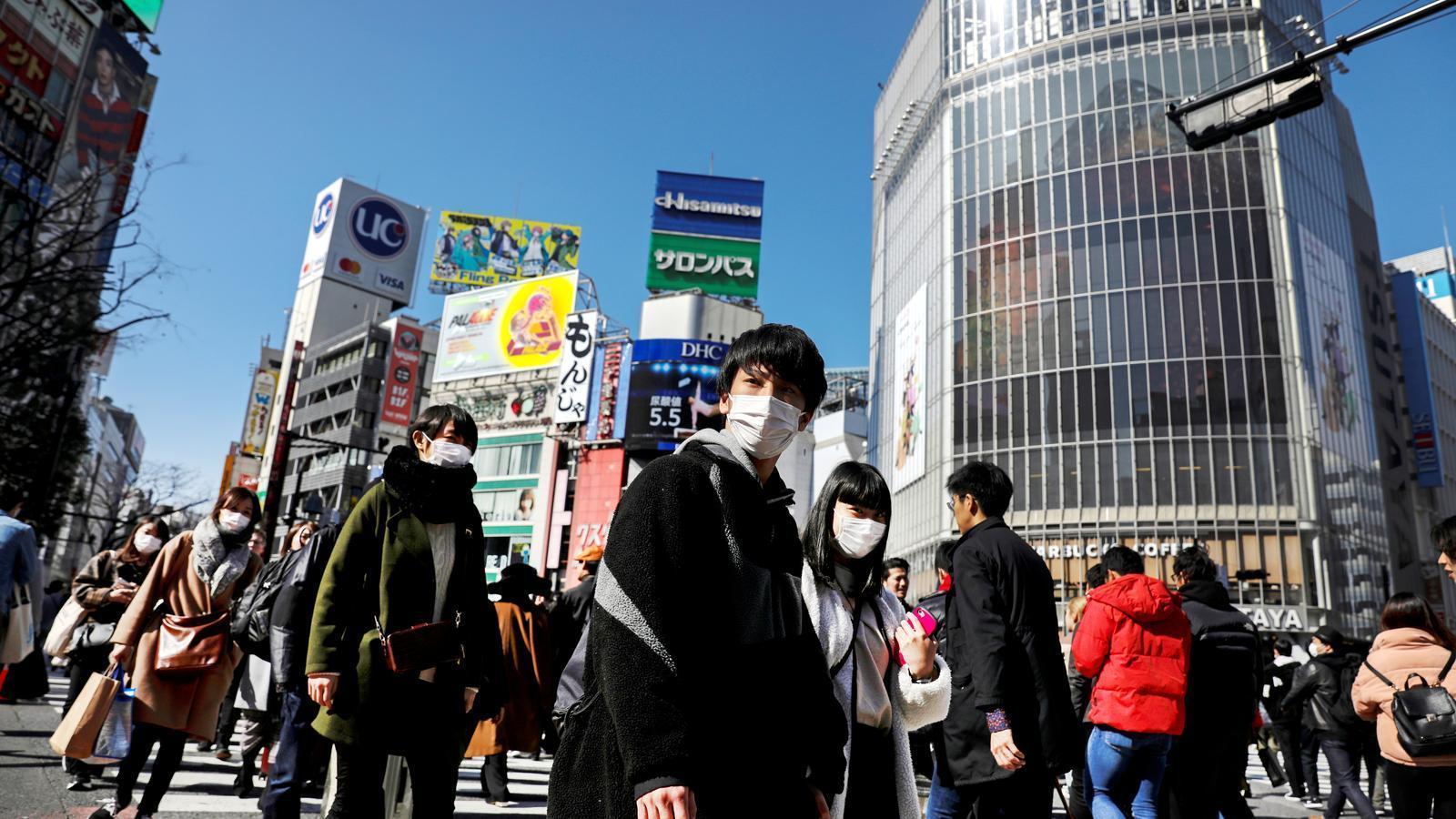 Districte comercial de Shibuya a Tòquio, el Japó