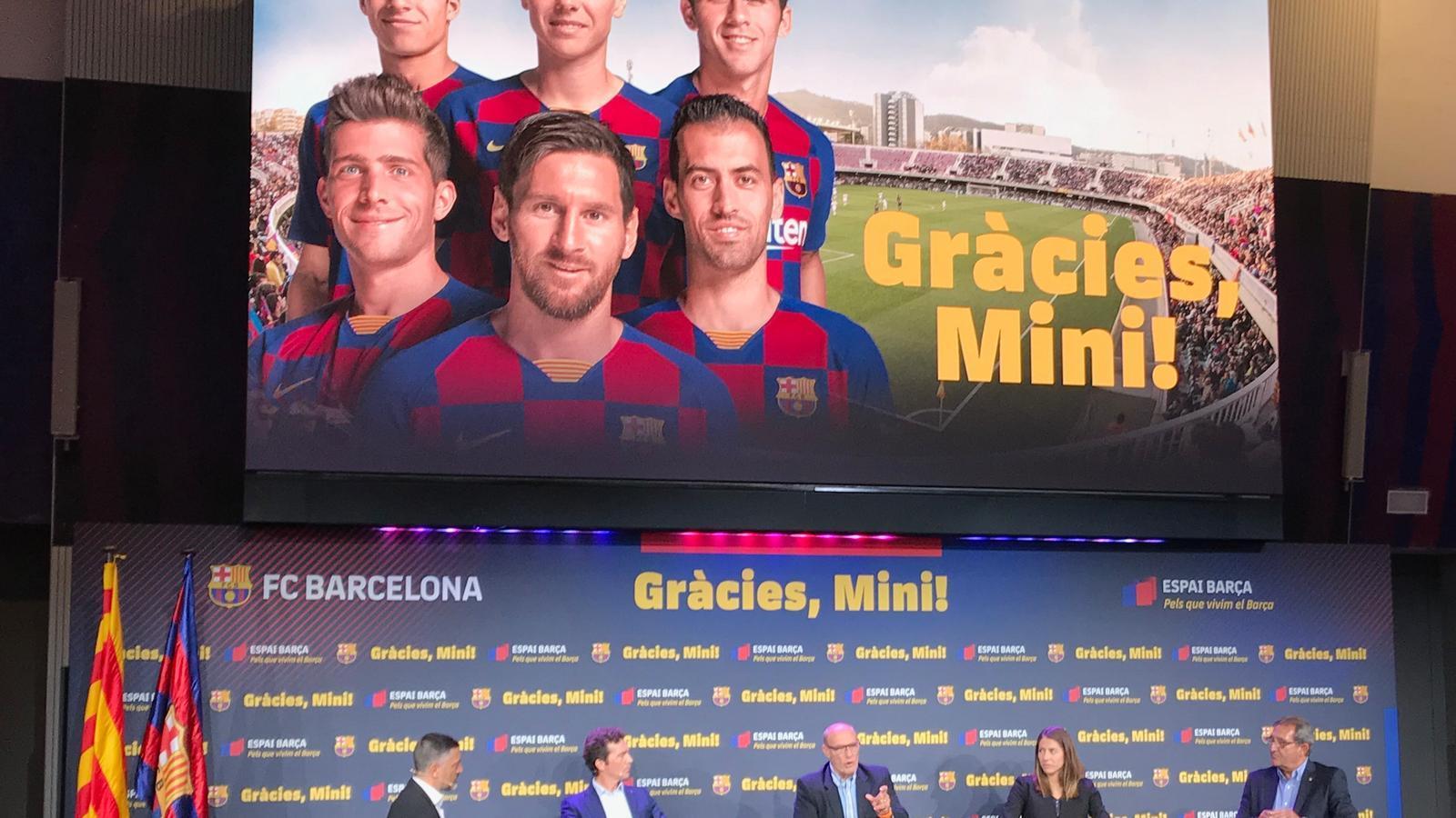 El Barça s'acomiada del Miniestadi