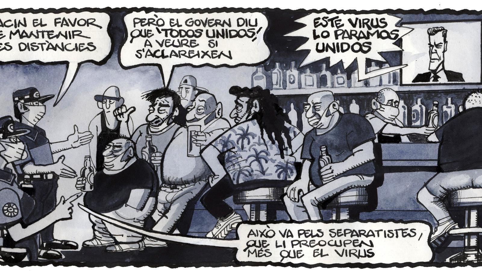 'A la contra', per Ferreres 25/09/2020