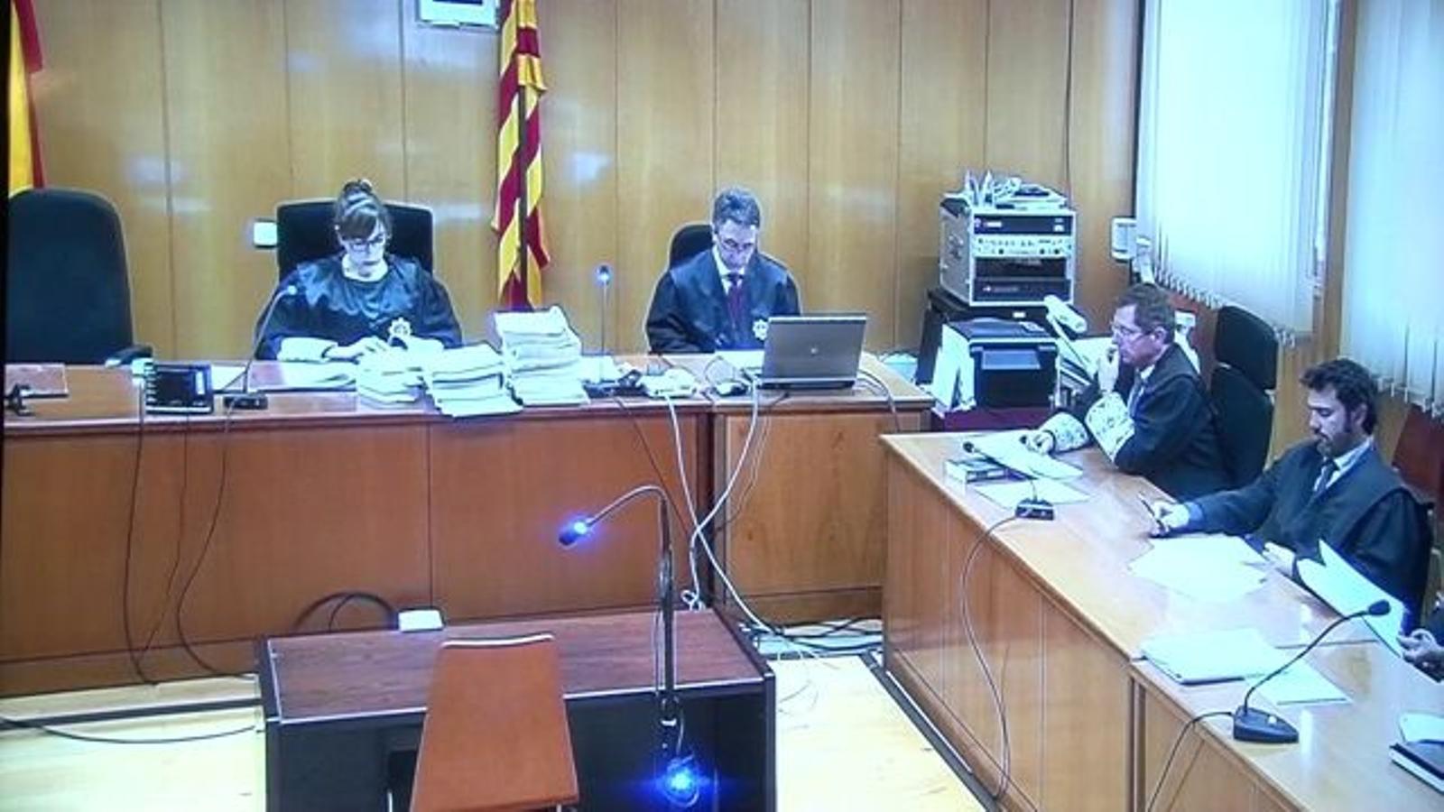 Lectura del verdicte del judici a l'exalcalde de Roda de Berà