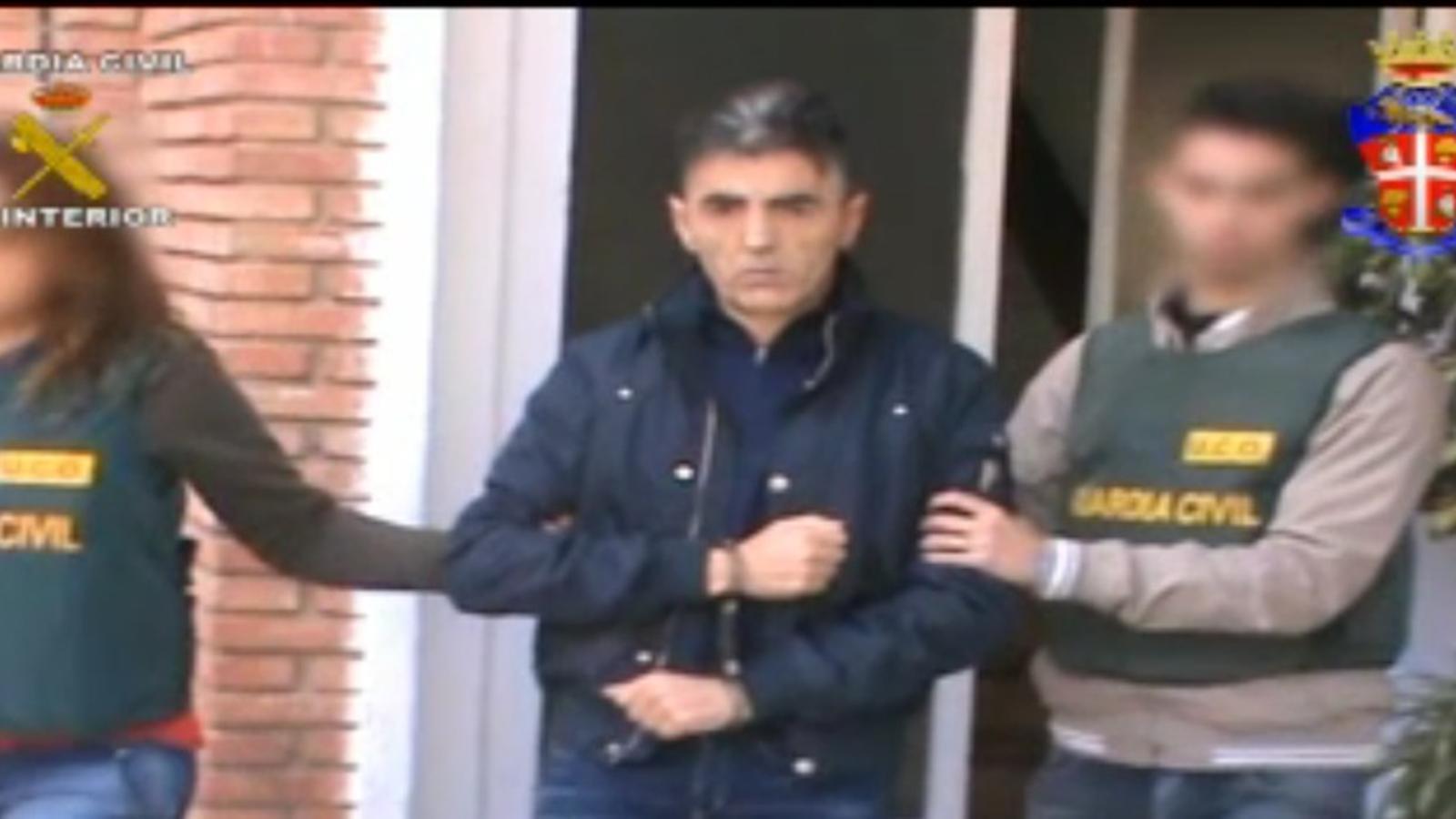 Detenció d'un membre de la Camorra napolitana, Vittorio Maglione, a Màlaga