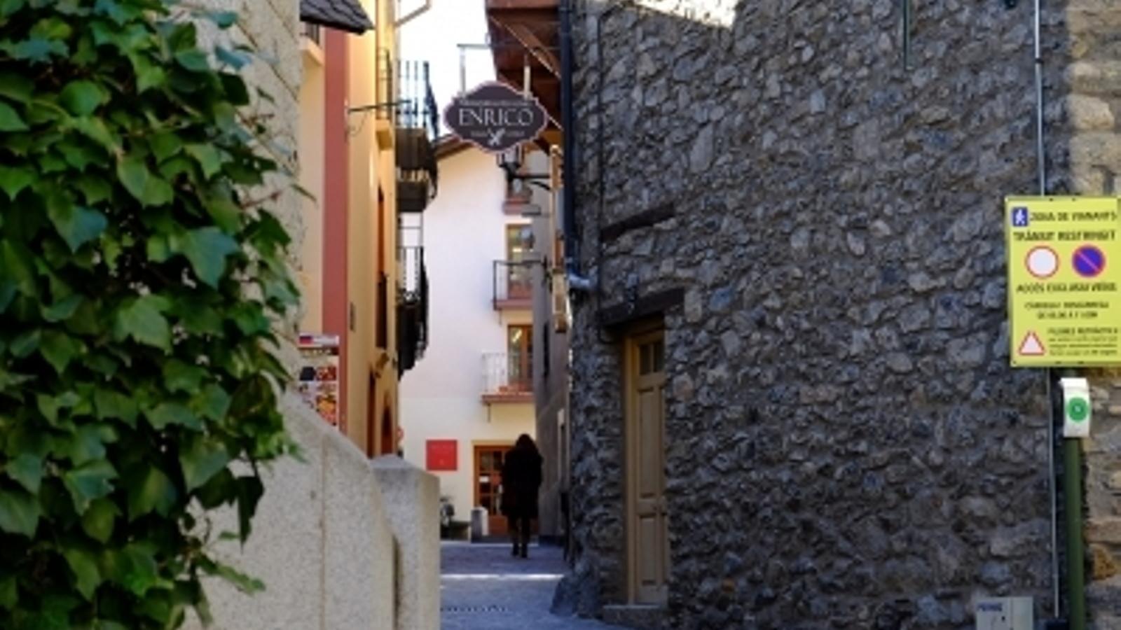 Una imatge del centre històric d'Andorra la Vella. / ARXIU ANA