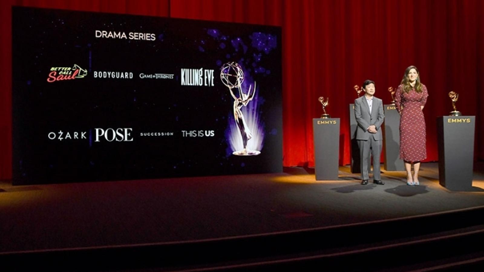 La cerimònia dels Emmy 2019 no tindrà presentador