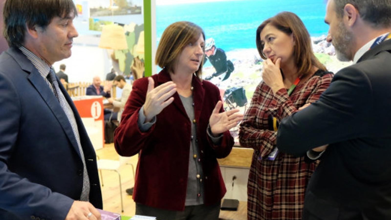L'última acció de la Fundació Foment del Turisme va tenir lloc a la World Travel Market.