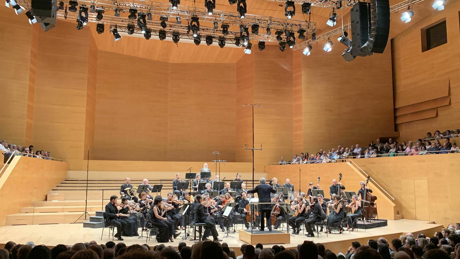 Jordi Savall agafa la batuta a L'Auditori
