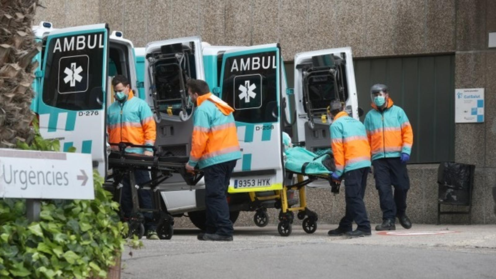 Ambulàncies a l'Hospitalet de Llobregat