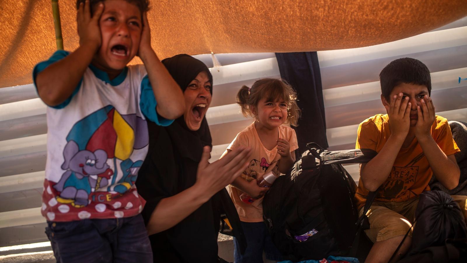 Gasos lacrimògens per silenciar les protestes dels refugiats de Mória