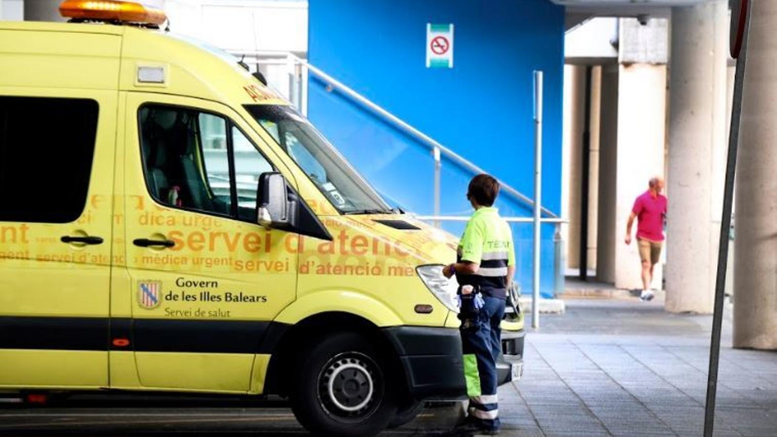 Un camió dels fems atropella i fereix greu una dona de 76 anys a Palma