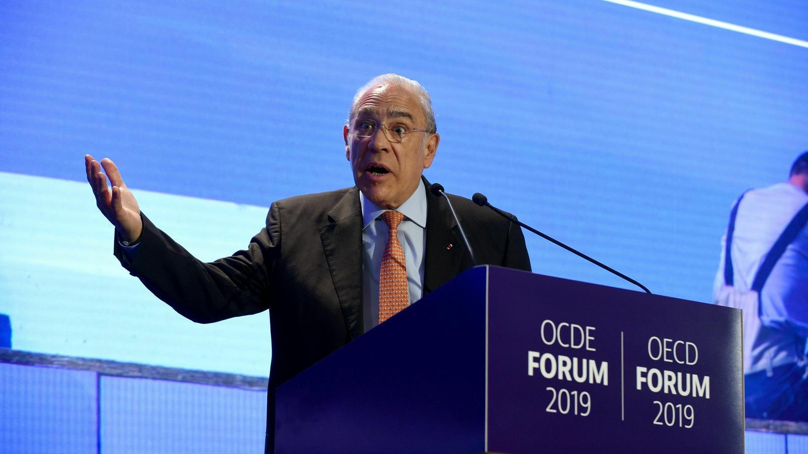 El president de l'OCDE, Ángel Gurría, ha retallat les previsions de creixement de l'economia mundial