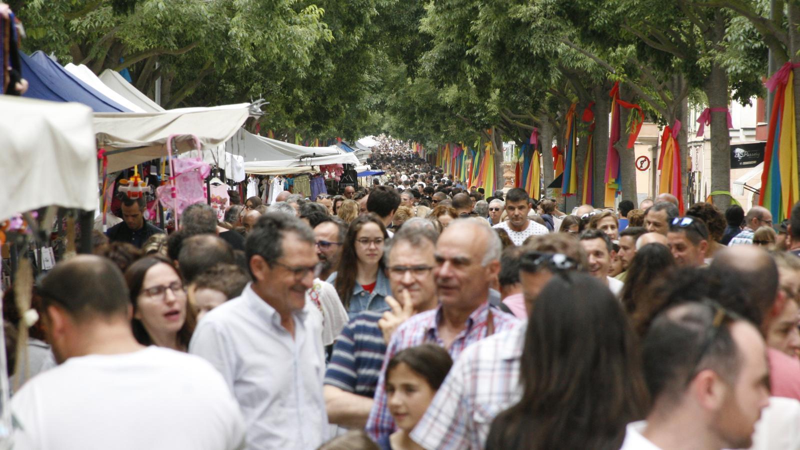 El municipi de Manacor ha incrementat la població de forma notable.