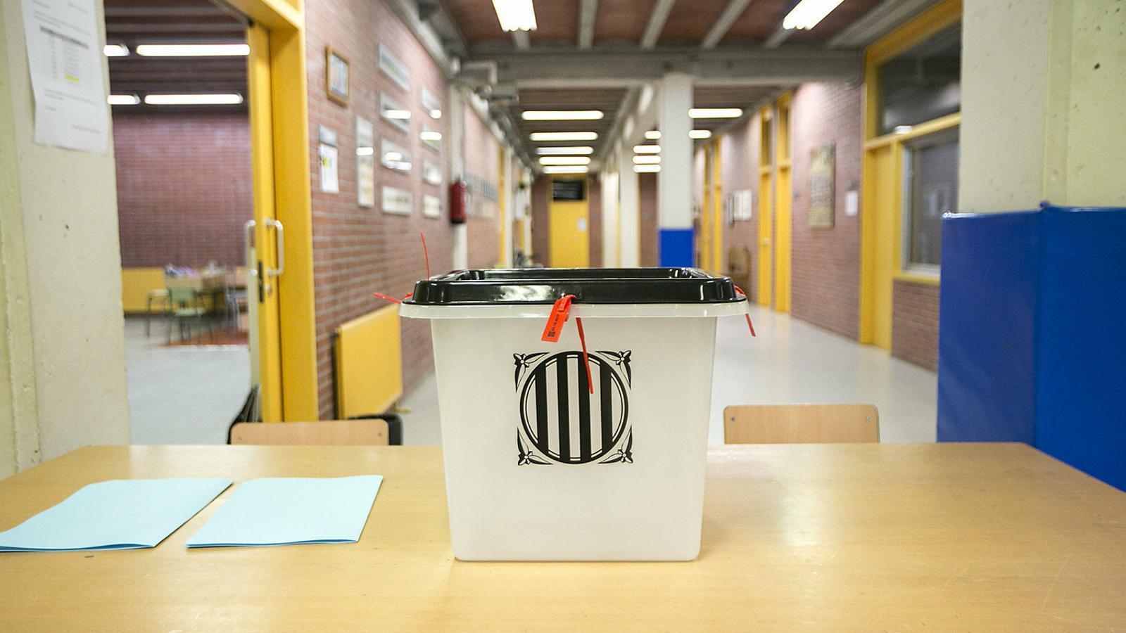La CUP recupera la opción de celebrar un nuevo referéndum