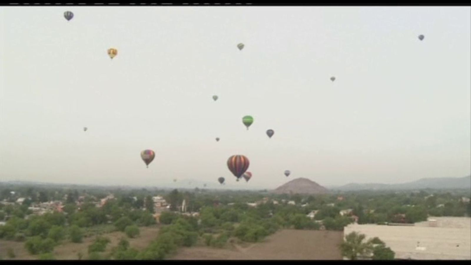 Festival de globus aerostàtics a Mèxic