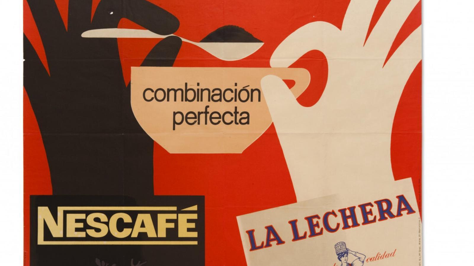 Cartell comercial de Nestlé de Josep Pla-Narbona