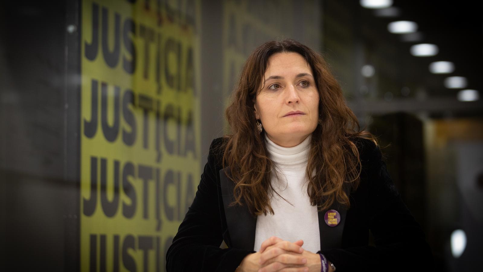 La número dos d'ERC a les eleccions al Parlament, Laura Vilagrà. / DAVID ZORRAKINO / EUROPA PRESS