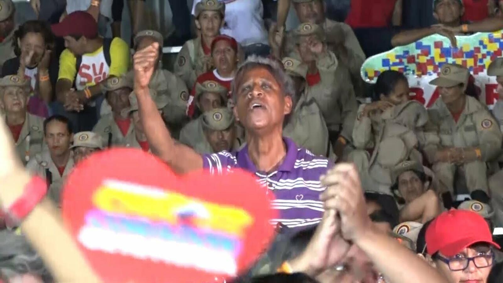 'Con el mazo dando': el programa de televisió del número 2 del chavisme