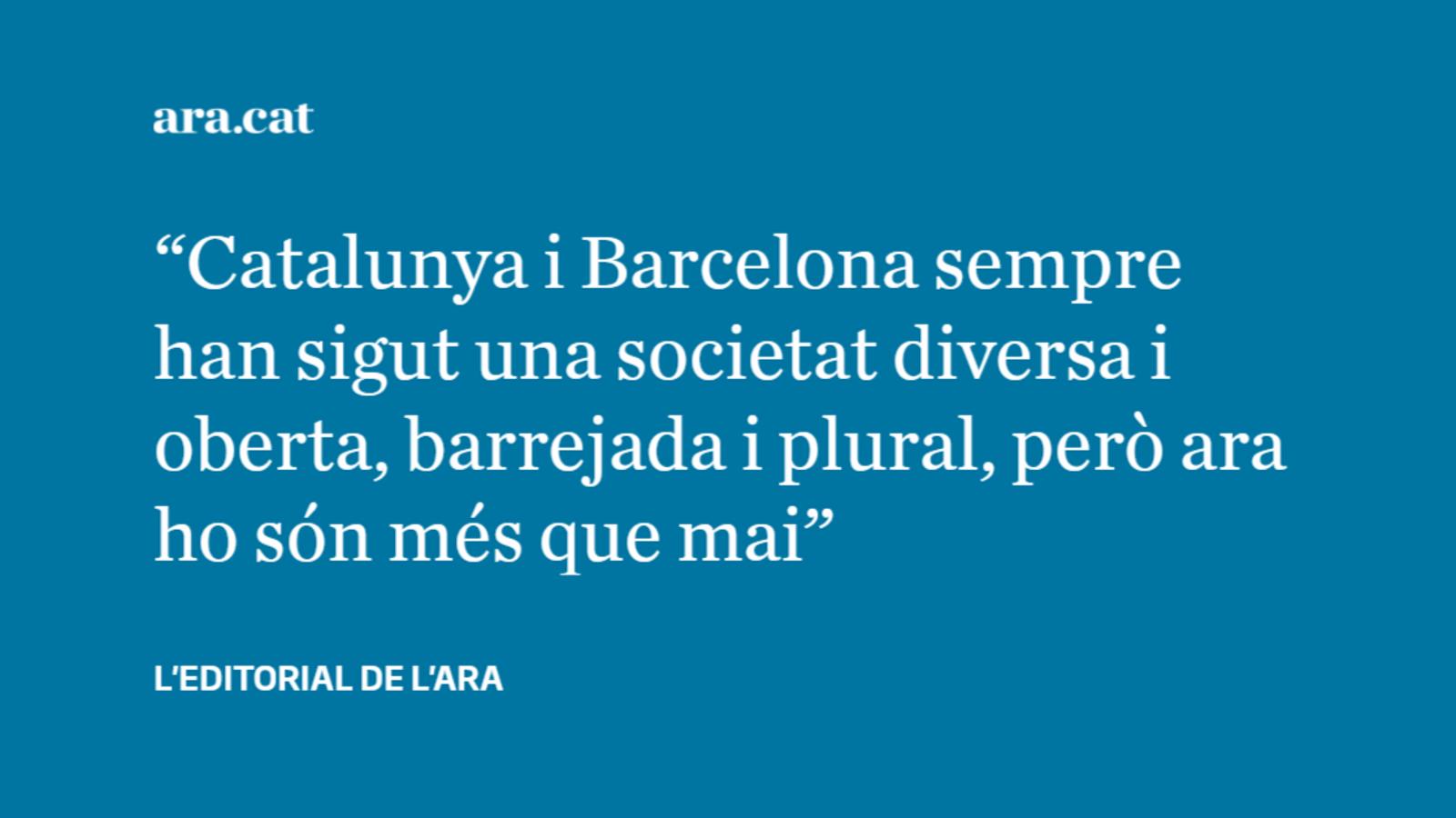 La immigració, clau en el creixement de Barcelona