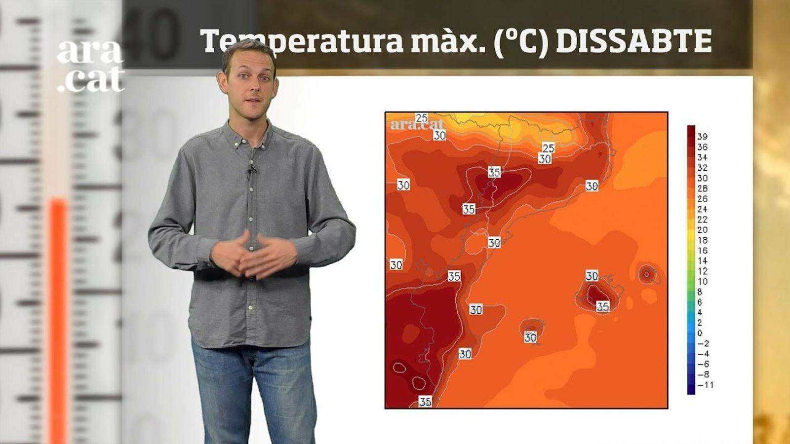 La méteo en 1 minut: s'acaba la calor més intensa