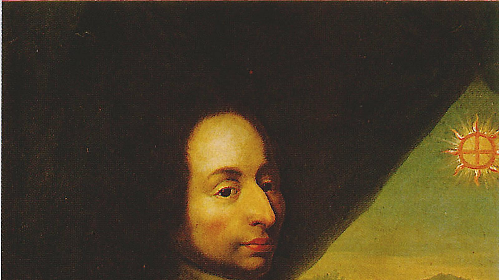Pintura anònima que representa el filòsof datat al segle XVII.