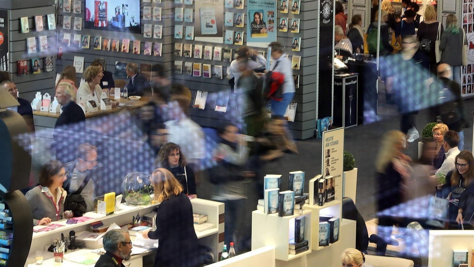 Dels gairebé 300.000 visitants de la fira de Frankfurt, un 50% són professionals del sector.