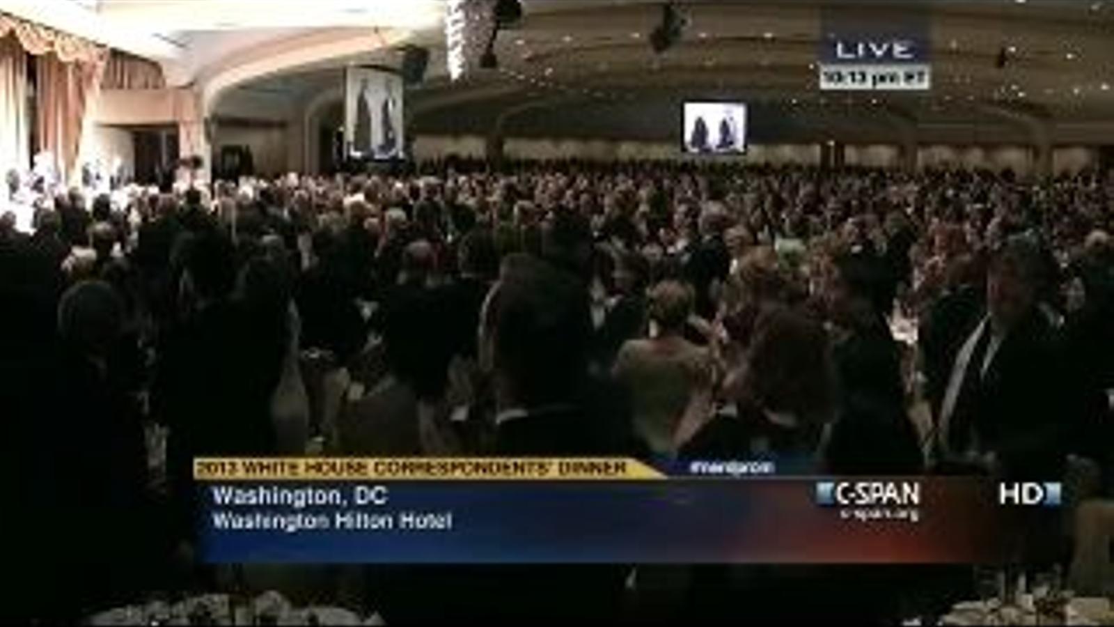 El discurs d'Obama en el sopar de corresponsals, íntegre