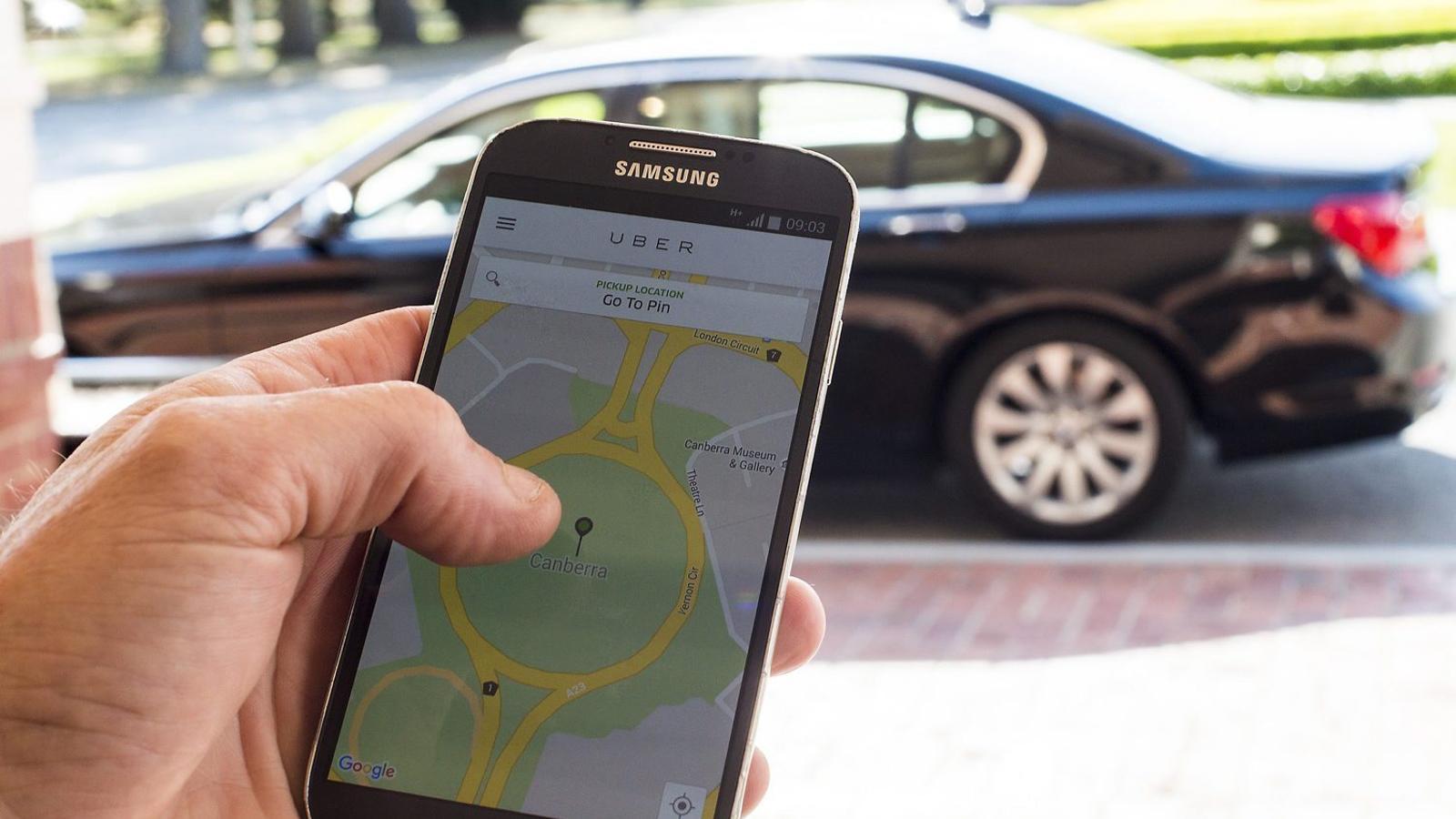 Uber ja busca conductors  per tornar a Barcelona
