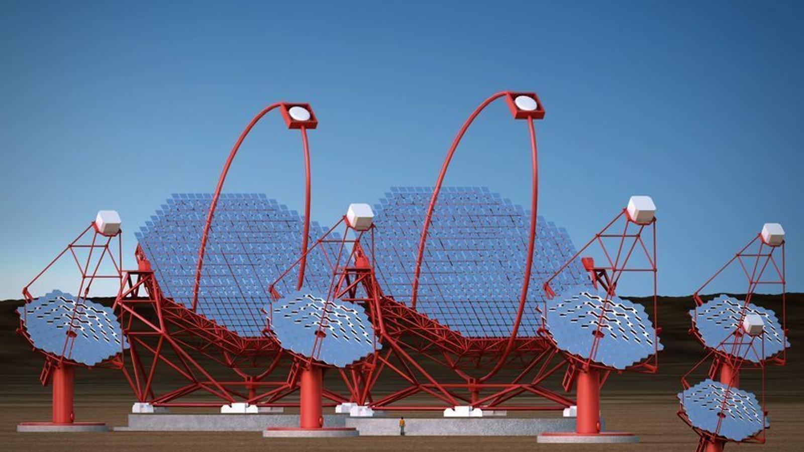 EL CTA serà l'observatori terrestre de rajos gamma més gran del món i tindrà dues seus, una a Atacama, Xile, i l'altra a Las Palmas.