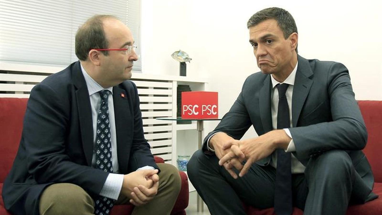 El PSC força Sánchez a incloure al programa del 10-N les referències al model federal