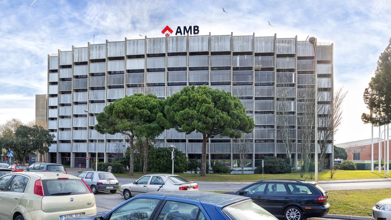 La seu de l'Àrea Metropolitana de Barcelona / AMB