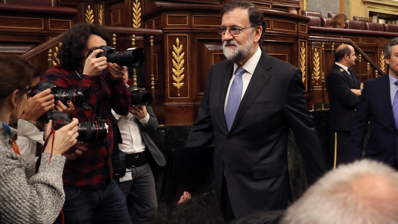 """Rajoy insisteix que presentarà els pressupostos a temps mentre Ciutadans avisa que """"s'està quedant sol"""""""