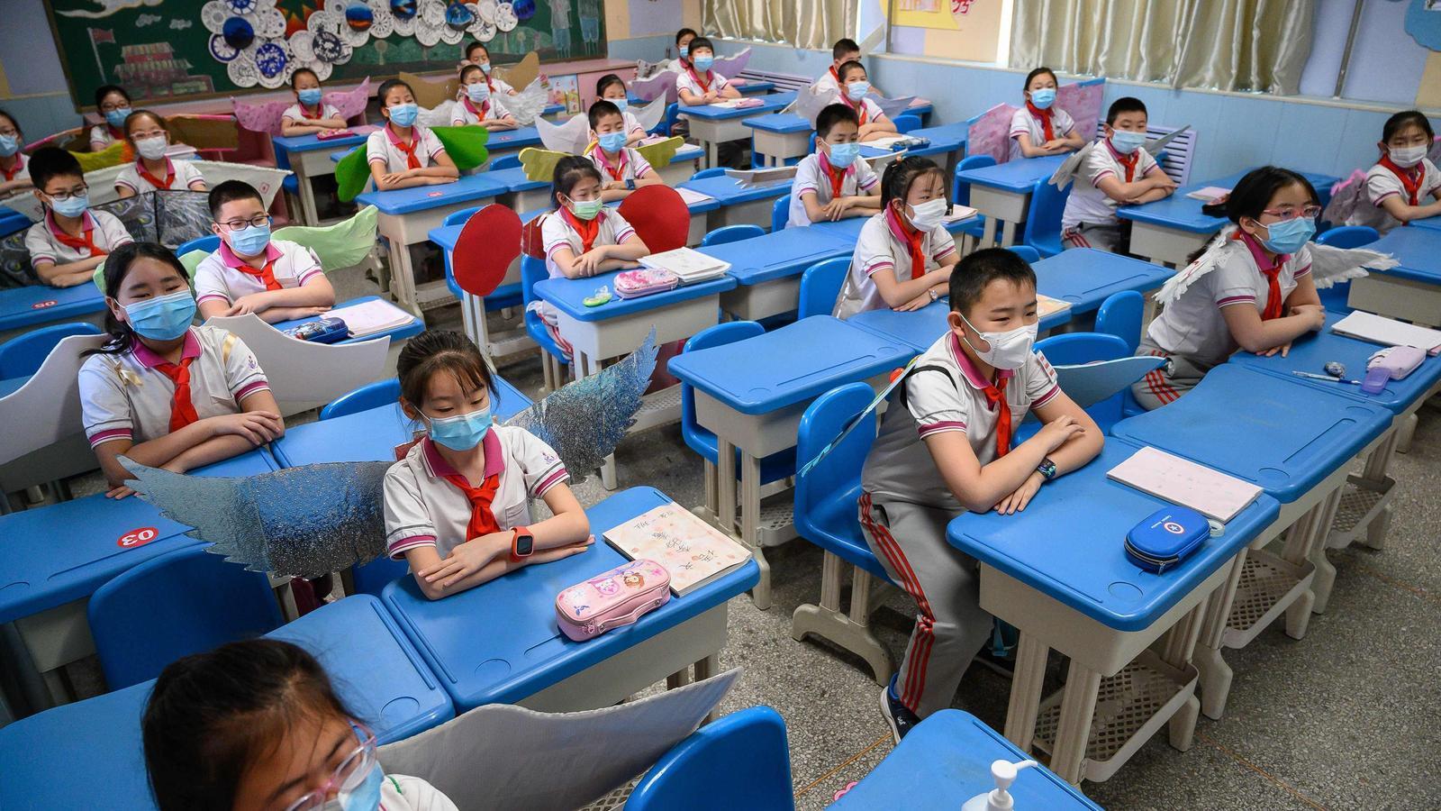 Escola de Taiyuan, a la província de Shanxi, al nord de la Xina