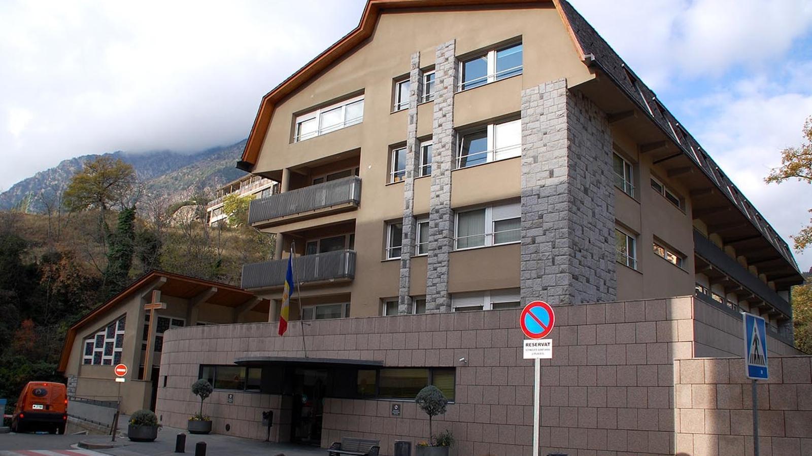 L'edifici de consultes externes. / ARXIU ANA