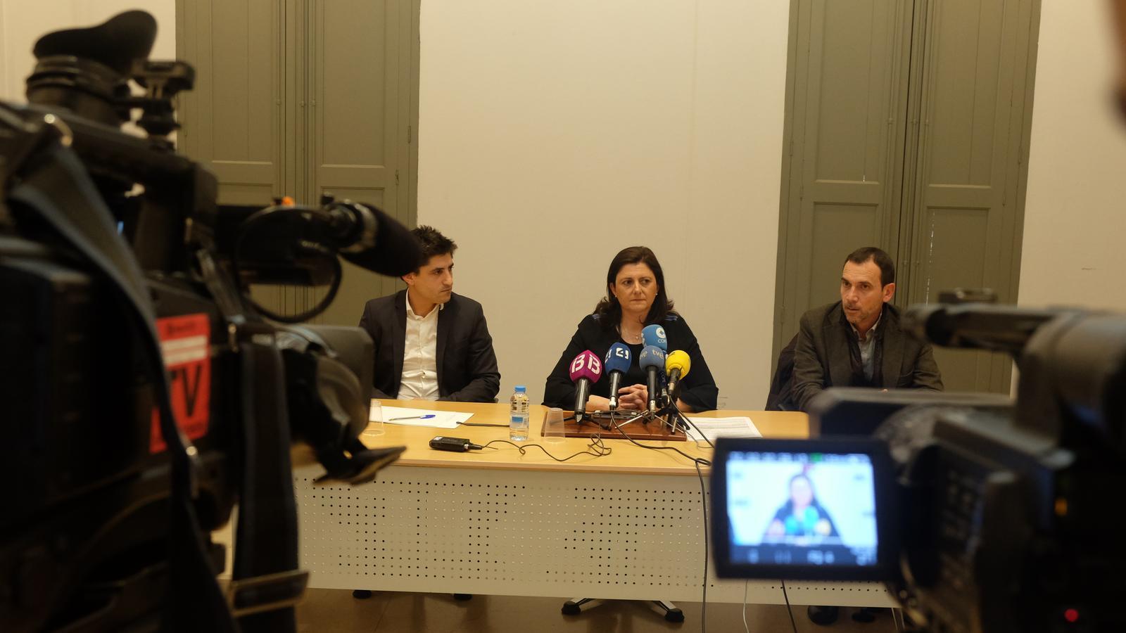La coordinadora de la Comissió del Torn d'Ofici del Col·legi d'Advocats de Balears, aquest dimecres.