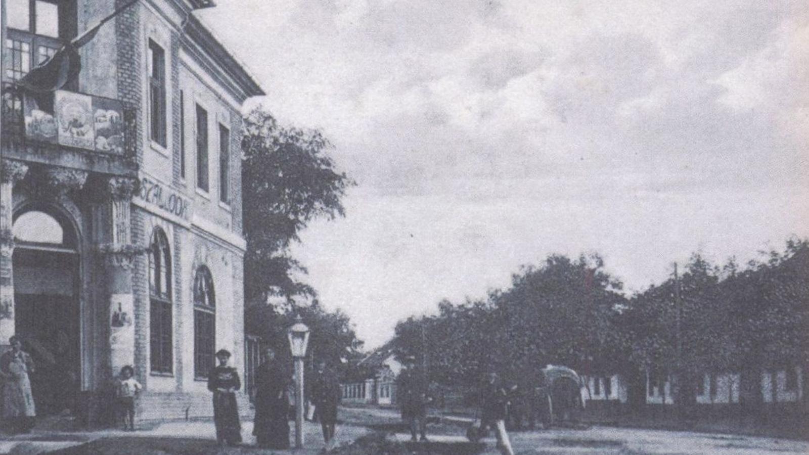El carrer de Cinkota on es va criar György Silberstein, a Hongria