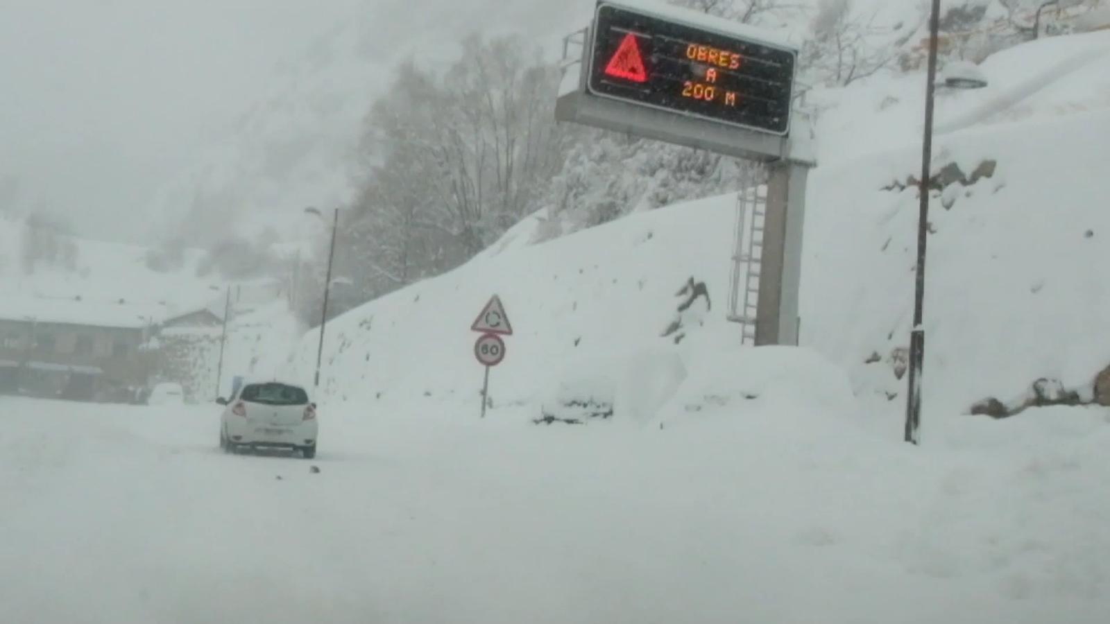 Andorra viu una de les nevades més importants dels últims anys