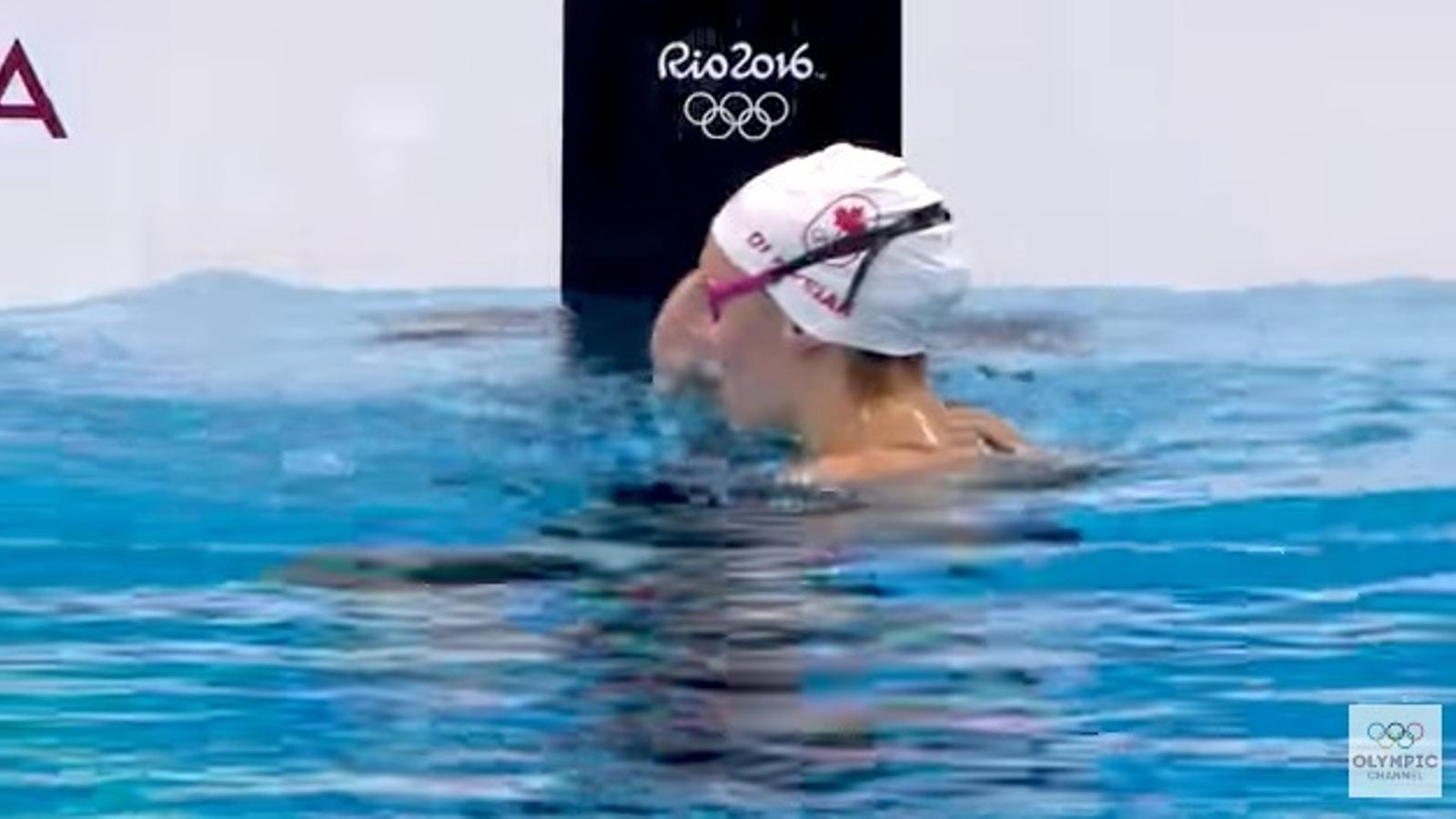 La final dels 100m lliures als Jocs de Rio