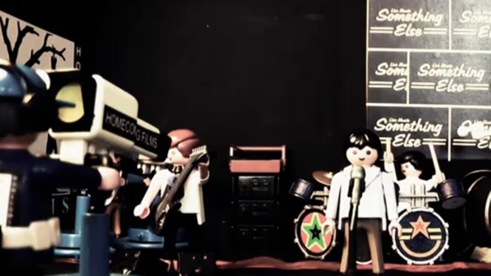 Joy Division, en versió Playmobil