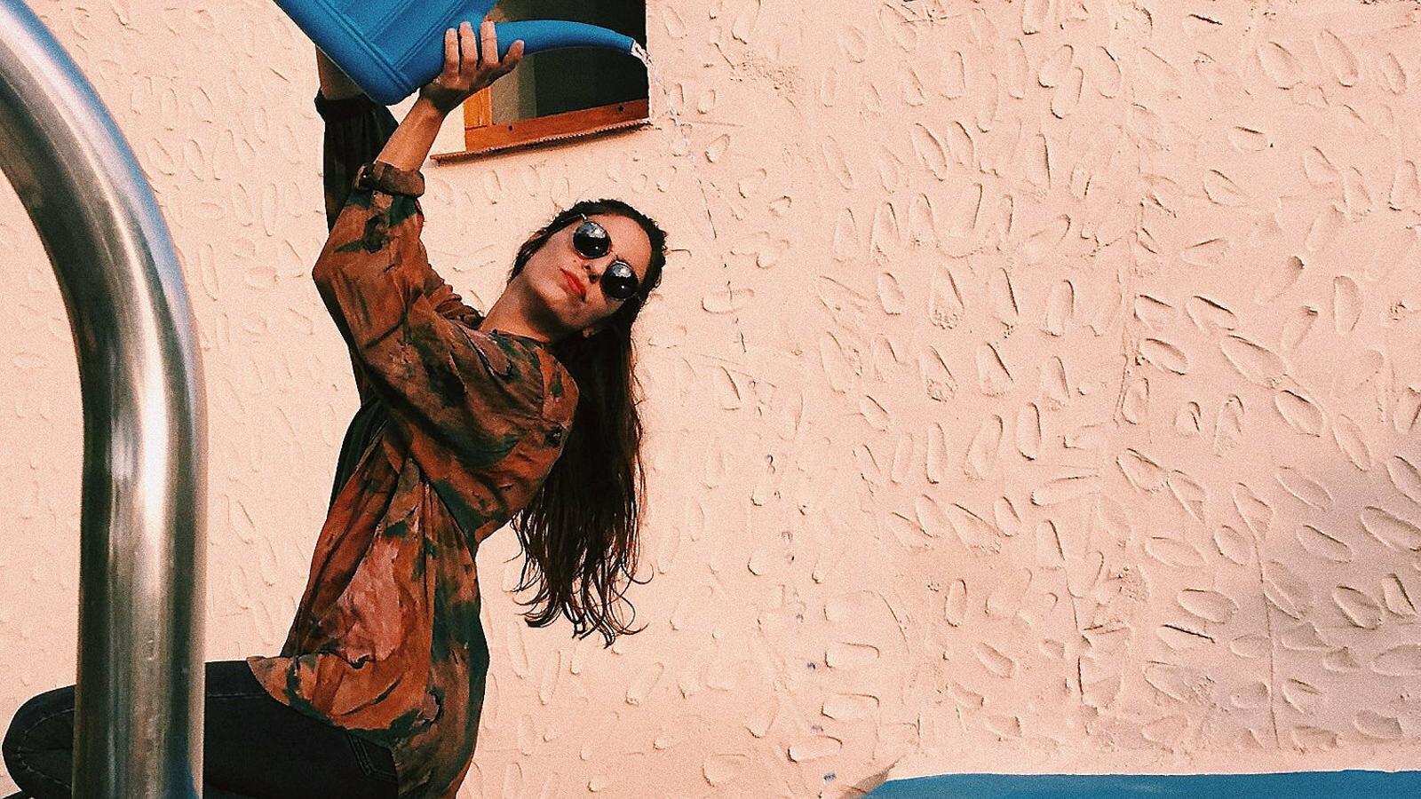 """Marina Capdevila: """"Mentre 'perdo el temps'  el cap busca idees"""""""